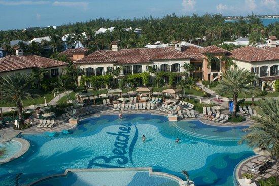 Beaches Turks and Caicos Resort Villages and Spa: Vila Italiana - Vista da suite