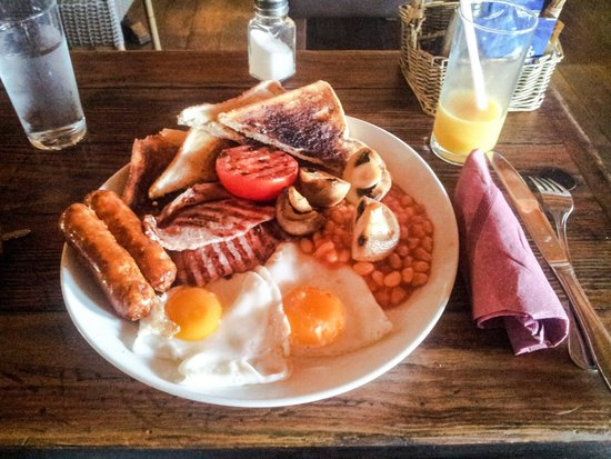 Monroe's : Full English breakfast