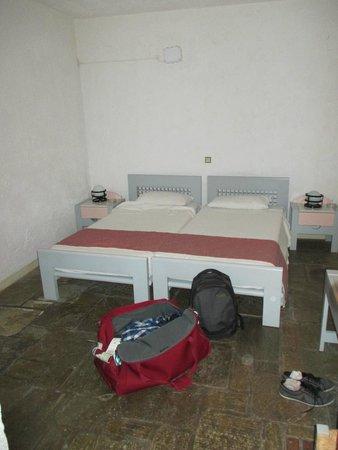 Galaxy Villas: chambre avec deux lits double
