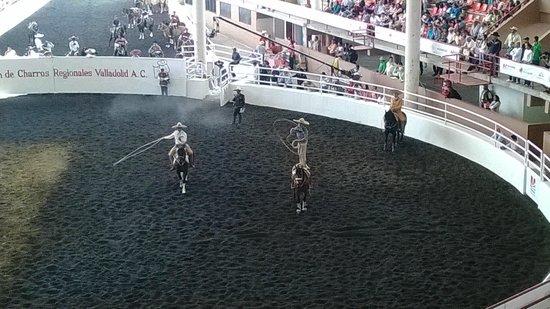 Morelia, Mexique : Manganas a caballo