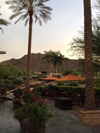 JW Marriott Scottsdale Camelback Inn Resort & Spa: View of Camelback from Unit #521