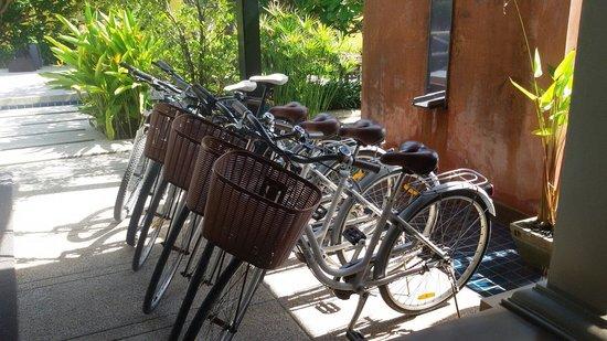 Chongfah Beach Resort: จักรยานไว้ยืมขี่