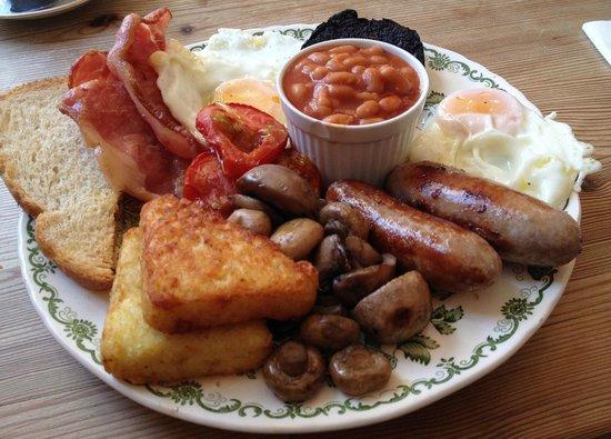 Pandora's Kitchen: The 'Fry Up Inspector' breakfast, amazing!