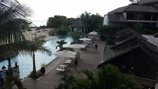 InterContinental Mauritius Resort Balaclava Fort : View from lobby