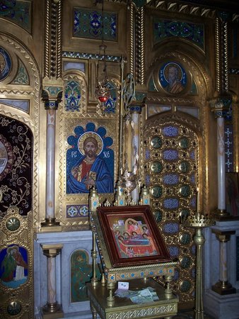 Curtea de Arges Monastery: icona