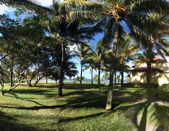 Tamassa Resort : la vue depuis notre chambre