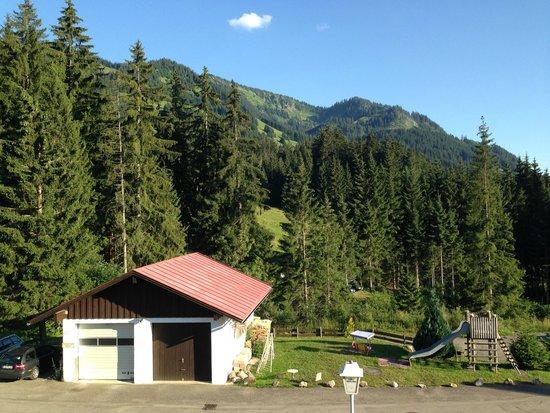 Berghotel Sonnenklause: Zimmeraussicht