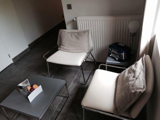 La Ferme de l'Oudon : Salon suite eden Spa