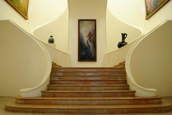 Musée des Beaux-Arts de Nancy : Scalinata