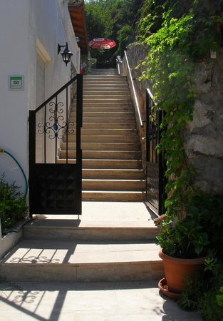 PH Hotel: Stairs to the terrace