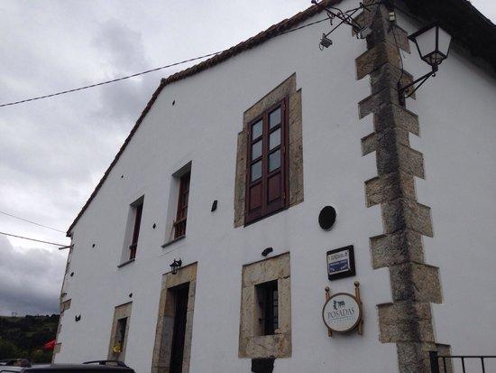 La Coteruca: Fachada principal