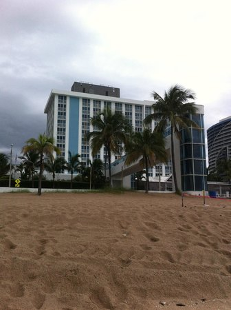 The Westin Beach Resort, Fort Lauderdale: Hotel vom Strand