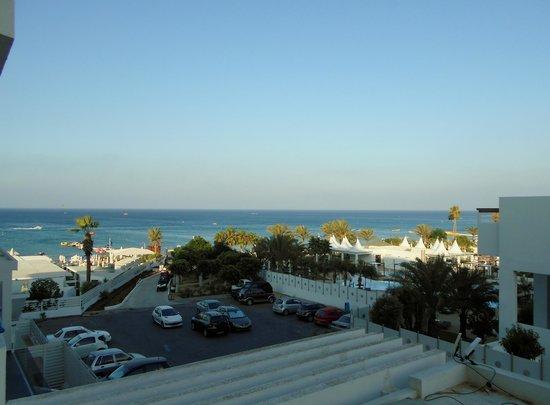 Vrissiana Beach Hotel: Pool/Beach