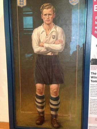 Harris Museum and Art Gallery: Portrait of Sir Tom Finney, PNE player