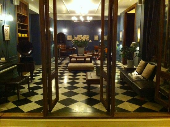 Devasom Hua Hin Resort : the reading room