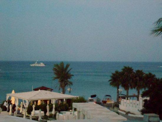 Vrissiana Beach Hotel: View