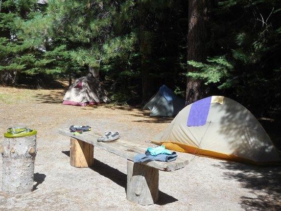 Yosemite High Sierra Camps: Campsite at Lake Merced