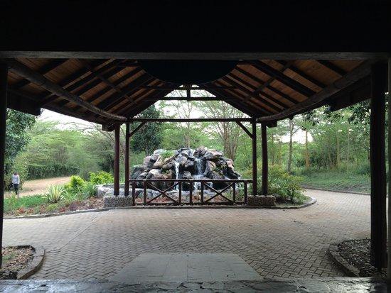 Mara Leisure Camp: Entrance