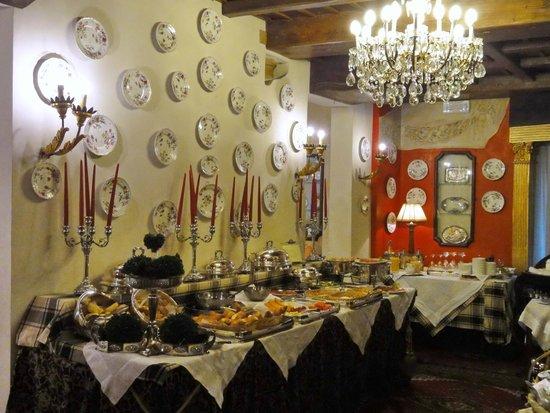 Hotel Gabbia d'Oro : Frühstücksbuffet