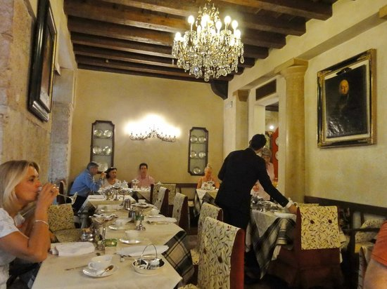 Hotel Gabbia d'Oro : Frühstücksraum