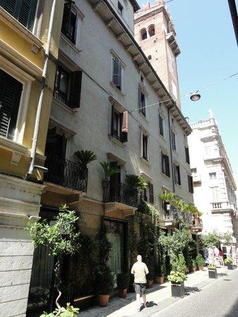 Hotel Gabbia d'Oro : Gabbia d'Oro von aussen