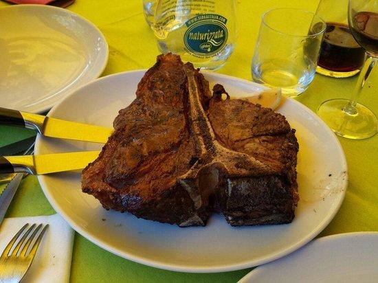 Trattoria Dami : Fiorentina con filetto