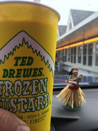 Ted Drew's Frozen Custard: Concrete Delight