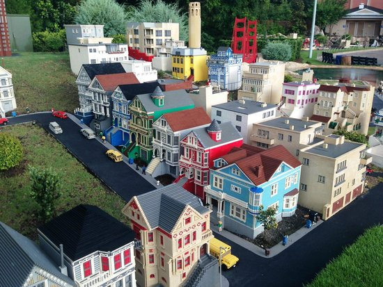 LEGOLAND Florida Resort: San Francisco Miniland in Legoland Florida