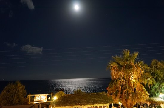 Makris Hotel: View from the balcony