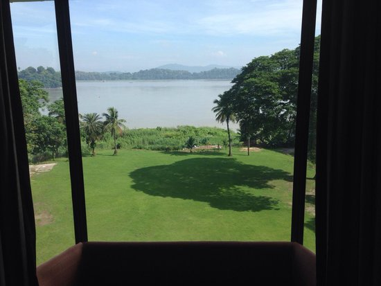 Hotel Brahamputra Ashok: View from from on 3rd floor