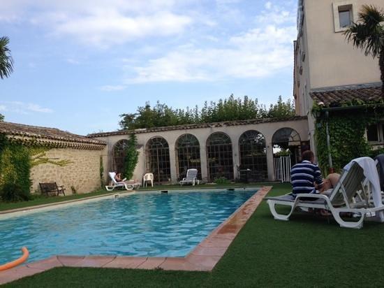 Hotel du Parc: pool