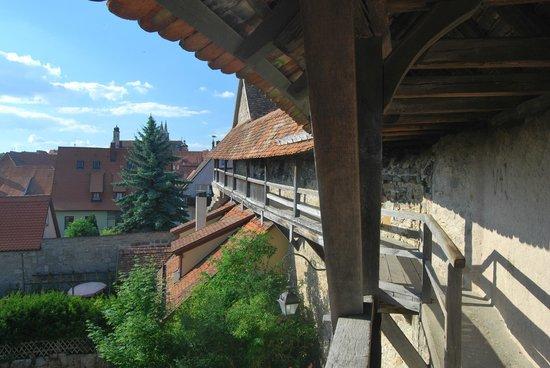 Town Walls : las murallas de Rothenburg