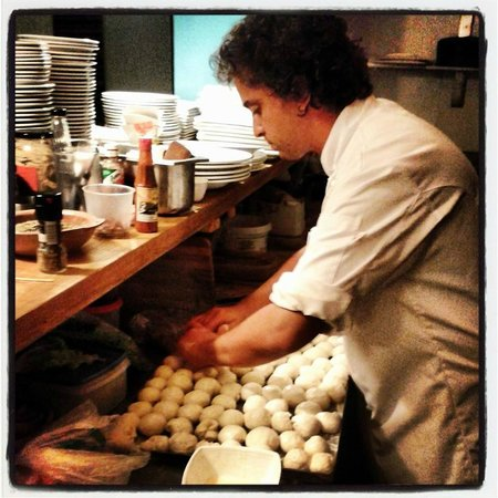 Patio Verde : el chef