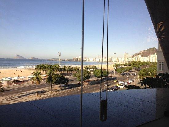 Porto Bay Rio Internacional Hotel: vue pendant le petit dej