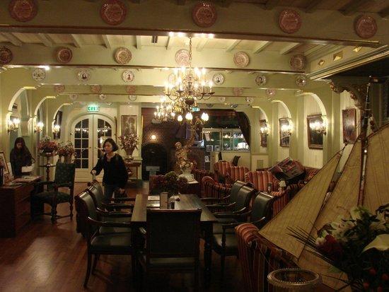 Hotel Spaander : Spaander reception area