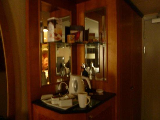 Hilton Hotel Dresden: Hot drink set