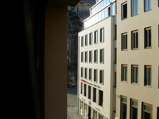 Hilton Dresden Hotel : View from the room