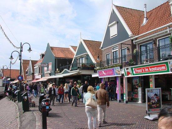 Hotel Spaander : Volendam shops