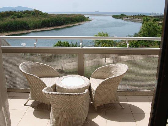 Hilton Dalaman Sarigerme Resort & Spa: Zimmeraussicht auf die Anlage