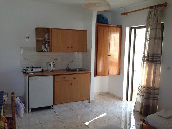 Stergia Apartments: angolo cottura