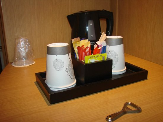 Novotel Amsterdam City: coffee facilities in room