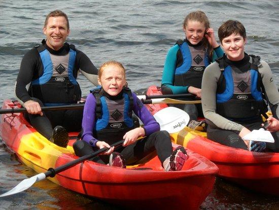 Life Adventure Centre: Happy Kayakers