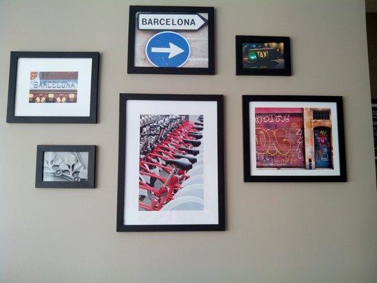 Citadines Ramblas Barcelona: Decoración