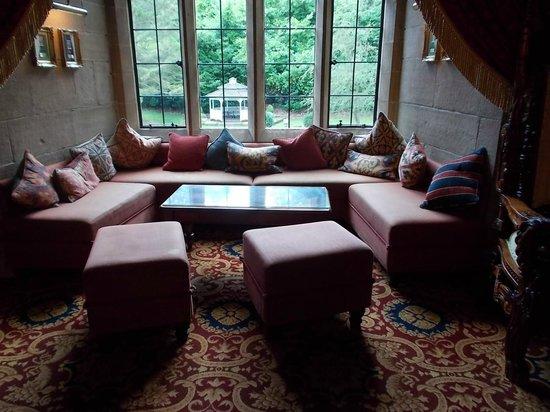 Window seat in the lounge