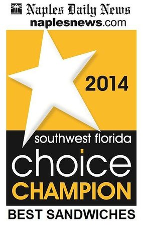 Tropic Chill Deli: Voted BEST SANDWICHES in Naples!