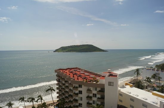 The Inn at Mazatlan: vista a Isla de Pájaros