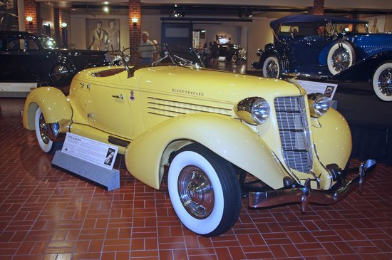 Gilmore Car Museum: 1935 Auburn Boat Tail Speedster