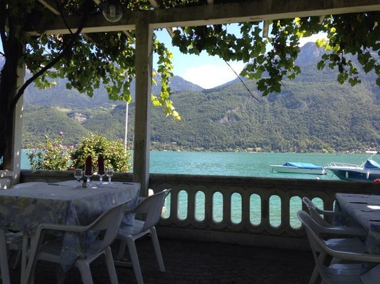 Hotel Port Et Lac: vu du restaurant