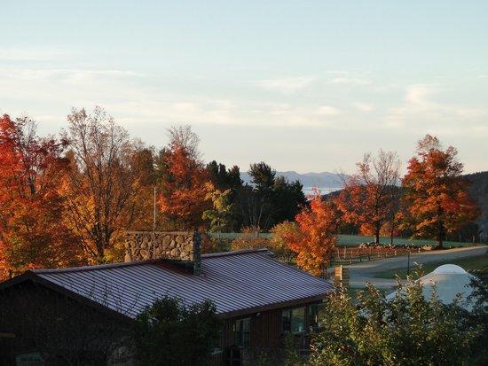 Trapp Family Lodge : Uitzicht hotelkamer