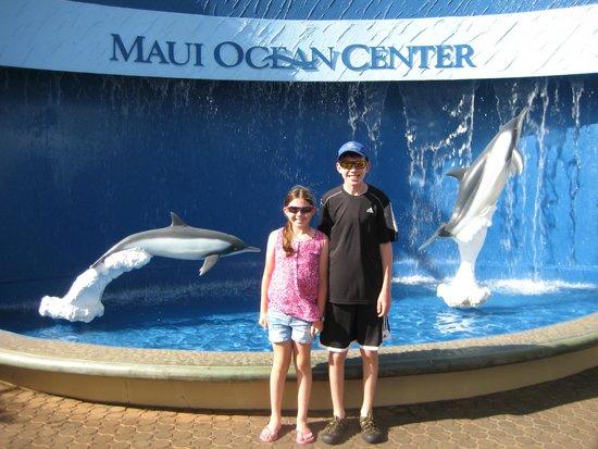Maui Ocean Center : Our favorite aquarium